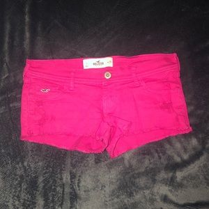 Size 1 Denim Hollister Shorts Pink